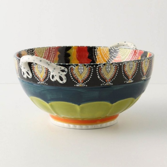 Anthropologie Other - Anthropologie Calvia Serving Bowl